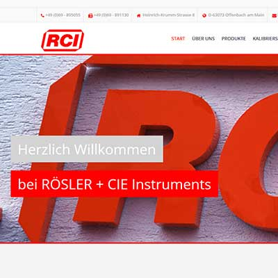 Eich Webdesign | Carola Eich | Karlstein am Main | Aschaffenburg | Offenbach am Main | Frankfurt am Main | Hanau | Relaunch | RCI Rösler | Offenbach am Main - Bieber | Relaunch